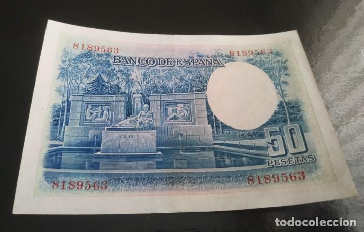 Billetes españoles: 50 pesetas 1935 bicolor rarisimo - Foto 2 - 221511980