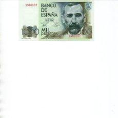 Billetes españoles: BILLETE DE 1000 PESETAS AÑO 1979. Lote 222226255