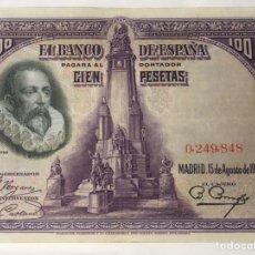 Billetes españoles: BILLETE DE 100 PESETAS 1928 SIN SERIE. Lote 222716267