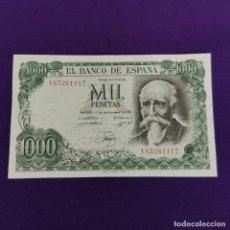 Notas espanholas: BILLETE ORIGINAL DE 1000 PESETAS. 1971. CON LIGERISIMA DOBLEZ. MUY BONITO.. Lote 222995523
