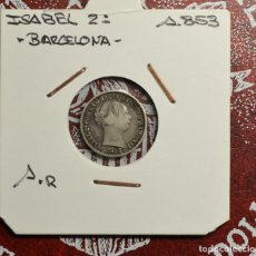 Billetes españoles: ESPAÑA - 1 REAL - 1853 - ISABEL II. Lote 223323126