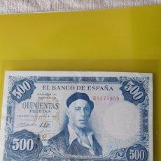 Billetes españoles: ESPAÑA SERIE N 8375959 500 PESETAS 22 JULIO 1954 ESPAÑA ZULUAGA NUMISMÁTICA COLISEVM. Lote 224282715