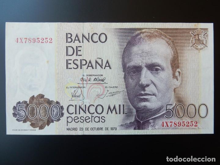 SC- - SERIE 4X - BILLETE DE 5000 PESETAS DE 1979 - JUAN CARLOS I (Numismática - Notafilia - Billetes Españoles)