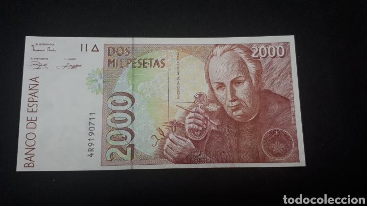 2000 PESETAS 1992 SC PLANCHA DISEÑO 1995 (Numismática - Notafilia - Billetes Españoles)