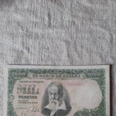 Billetes españoles: SIN SERIE 7385833 1000 PESETAS 1951 31 DICIEMBRE BANCO ESPAÑA SOROLLA. Lote 230963315
