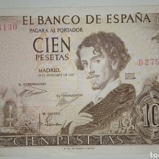 Billetes españoles: B-86.1 BILLETE 100 PESETAS 1965 BÉCQUER MBC SERIE B. Lote 231712465