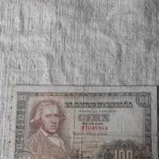 Billetes españoles: H 7648864 CIEN PESETAS ESPAÑA 2 MAYO 1948 FRANCISCO BAYEU NUMISMÁTICA COLISEVM. Lote 231953795