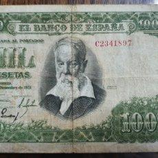 Billetes españoles: BILLETE DE 1000 PESETAS JOAQUÍN SOROLLA 1951.. Lote 231983610