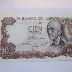 Billetes españoles: BILLETE 100 PESETAS MANUEL DE FALLA. Lote 232367975