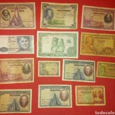Billetes españoles: LOTE DE BILLETES DE PESETAS LOTE 3. Lote 232502575