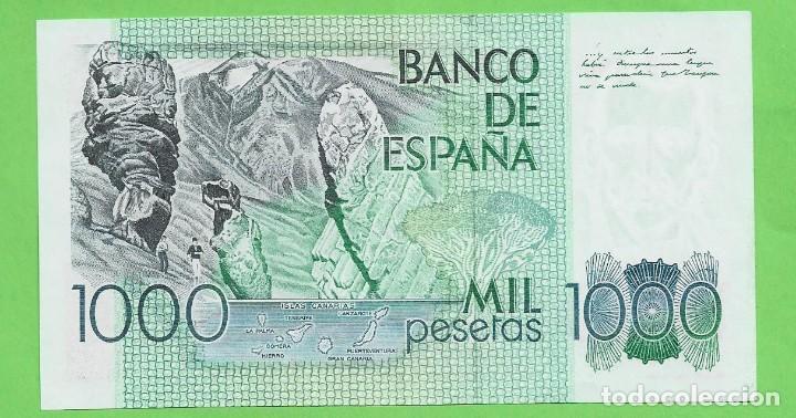 Billetes españoles: ESPAÑA:Billete de 1000 Pesetas 1979 PEREZ GALDÓS. SERIE A - Foto 2 - 234034780