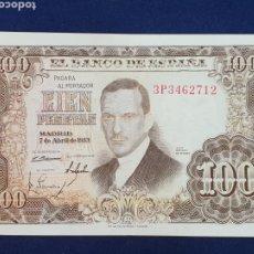 Billetes españoles: BILLETE 100 PESETAS 1953 SERIE 3P. Lote 235285190
