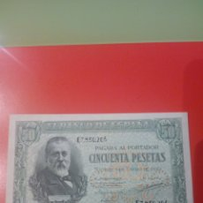 Billetes españoles: BILLETE 50 PESETAS 1940 SIN CIRCULAR SERIE C. Lote 235568735