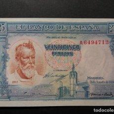 Billetes españoles: BILLETE DE 25 PESETAS DE 1936 SOROLLA SIN CIRCULAR.. Lote 236251785