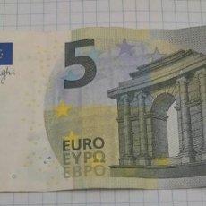 Billetes españoles: 5 EUROS 2013 SERIE MUY CURIOSA.. Lote 236274115
