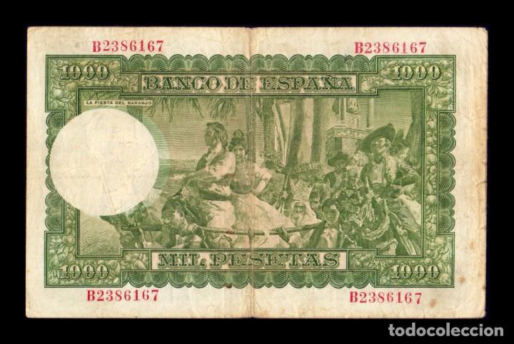 Billetes españoles: España 1000 Pesetas Joaquin Sorolla 1951 Pick 143 Serie B BC F - Foto 2 - 236309380
