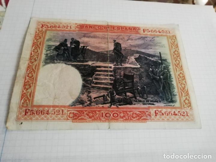 Billetes españoles: BILLETE DE 100 PESETAS, MADRID 1 DE JUNIO DE 1925 - Foto 2 - 236955440