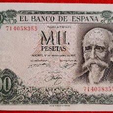Banconote spagnole: BILLETE 1000 PESETAS 1971 EBC++ SERIE 7I ORIGINAL T355. Lote 238456615