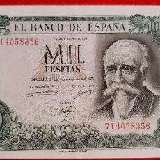 Banconote spagnole: BILLETE 1000 PESETAS 1971 EBC++ SERIE 7I ORIGINAL T356. Lote 238456705