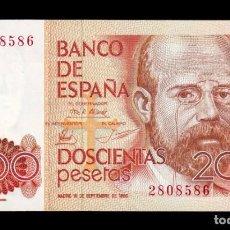 Notas espanholas: ESPAÑA SPAIN 200 PESETAS L. ALAS CLARÍN 1980 PICK 156 SIN SERIE SC- AUNC. Lote 239558150