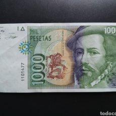 Billetes españoles: ESPAÑA 1000 PESETAS 1992 - ENVIO GRATIS A PARTIR DE 35€. Lote 242147550