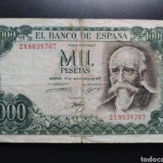 Billetes españoles: ESPAÑA 1000 PESETAS 1971 - ENVIO GRATIS A PARTIR DE 35€. Lote 242148155