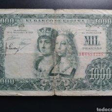 Billetes españoles: ESPAÑA 1000 PESETAS 1957 - ENVIO GRATIS A PARTIR DE 35€. Lote 242148990