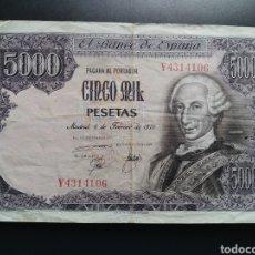 Billetes españoles: ESPAÑA 5000 PESETAS 1976 - ENVIO GRATIS A PARTIR DE 35€. Lote 242152095