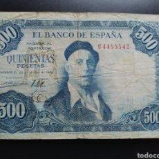 Billetes españoles: ESPAÑA 500 PESETAS 1954 - ENVIO GRATIS A PARTIR DE 35€. Lote 242154000