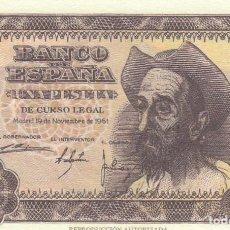 Billetes españoles: BILLETE FACSIMIL 107A - DON QUIJOTE DE LA MANCHA - 1 PTA - 19 NOVIEMBRE 1951 - VALOR 35€. Lote 242880215
