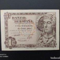 Billetes españoles: 1 PESETA DE 1948....SERIE B...SIN CIRCULAR....ES EL DE LAS FOTOS.. Lote 243419420