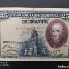 Billetes españoles: 25 PESETAS DE 1928.. SERIE C..( MUY BONITO)....ES EL DE LAS FOTOS.. Lote 243424045