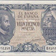 Billetes españoles: BILLETES ESPAÑOLES-ESTADO ESPAÑOL 25 PESETAS 1940 (SERIE E) (SC-). Lote 245156160