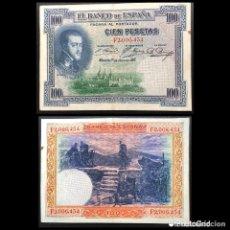 Billetes españoles: BILLETE 100 PESETAS AÑO 1925. Lote 245396600