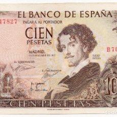 Billetes españoles: BILLETE DE 100 PESETAS, FRANCO EMISIÓN 19 NOVIEMBRE 1965 / SC PLANCHA. Lote 246142745