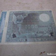 Billetes españoles: BILLETE FACSIMIL 1000 PESETAS 1907. Lote 246288420