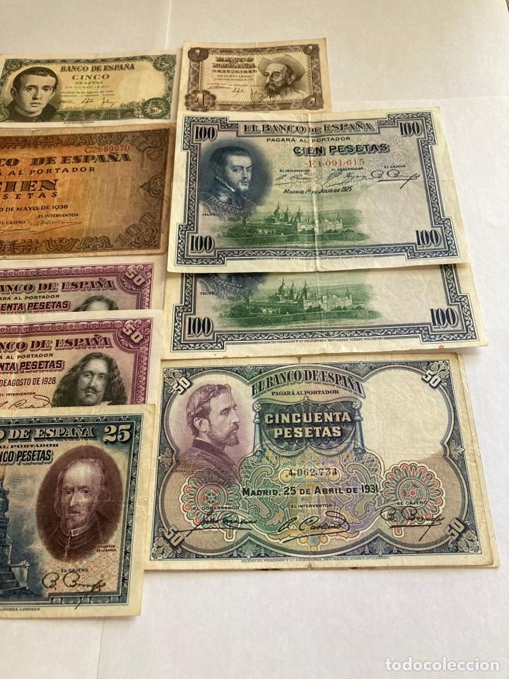 Billetes españoles: Lote variado de billetes españoles BC. - Foto 3 - 250165220