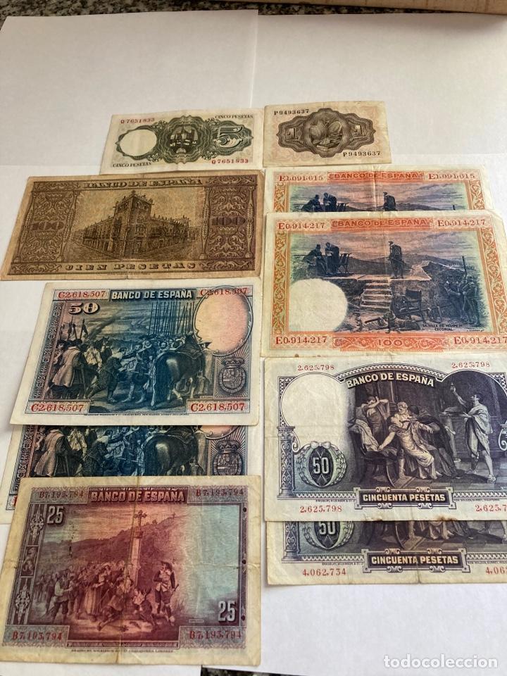 Billetes españoles: Lote variado de billetes españoles BC. - Foto 4 - 250165220