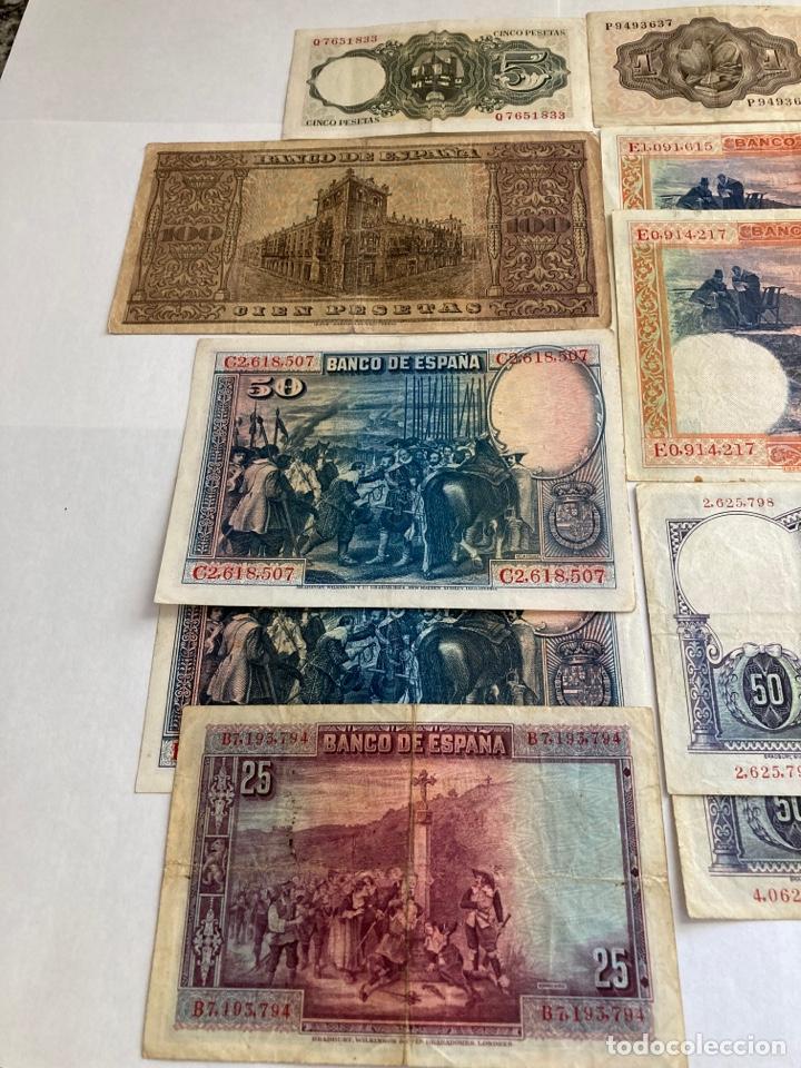 Billetes españoles: Lote variado de billetes españoles BC. - Foto 5 - 250165220