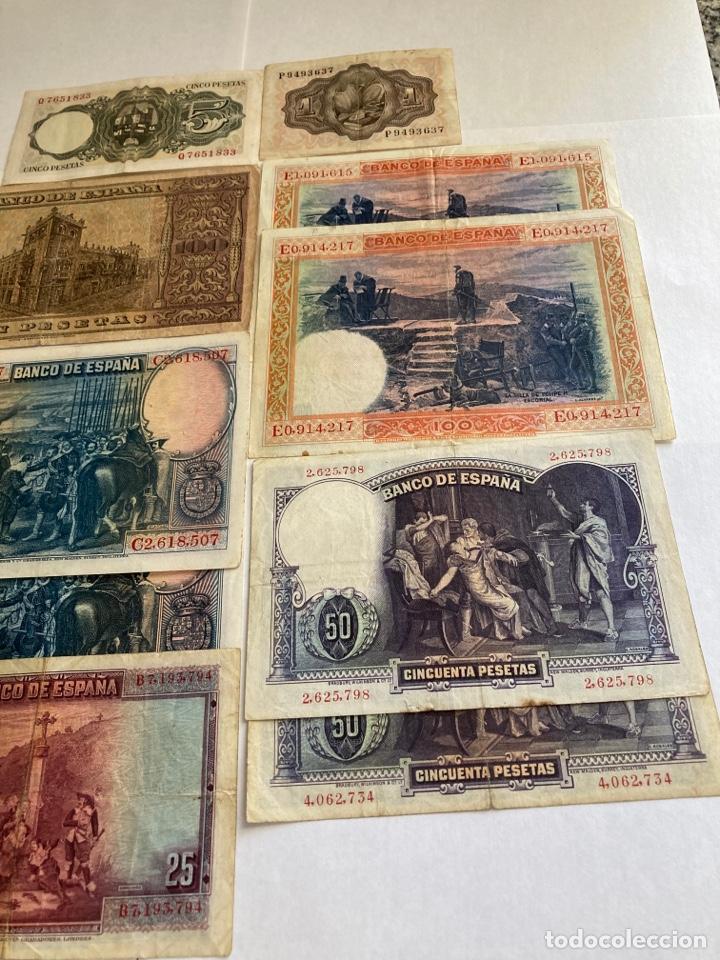 Billetes españoles: Lote variado de billetes españoles BC. - Foto 6 - 250165220