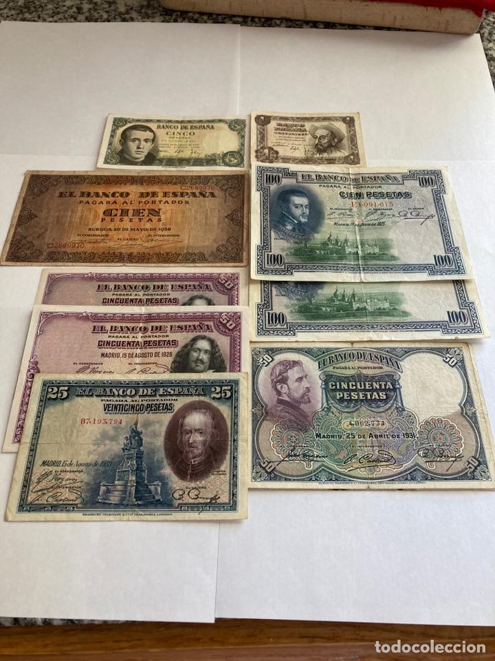LOTE VARIADO DE BILLETES ESPAÑOLES BC. (Numismática - Notafilia - Billetes Españoles)