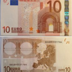 Billets espagnols: BILLETES DEL MUNDO . ALEMANIA . 10 EUROS 2002 . S/C . FIRMA TRICHET. Lote 252624115