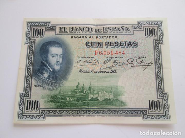 BILLETE * 100 PESETAS 1 DE JULIO DE 1925 (Numismática - Notafilia - Billetes Españoles)