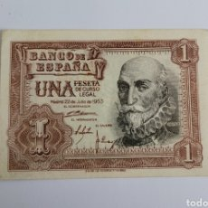 Banconote spagnole: BILLETE DE ESPAÑA 1 PTS 1953. Lote 254698110
