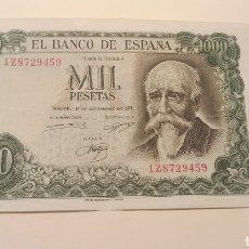 Billetes españoles: BILLETE 1000 PESETAS BANCO DE ESPAÑA MADRID 17 DE SEPTIEMBRE DE 1971 JOSÉ ECHEGARAY. Lote 255344285