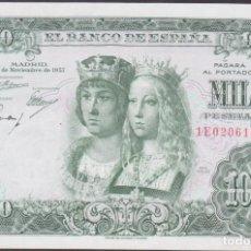 Billetes españoles: BILLETES ESPAÑOLES-ESTADO ESPAÑOL 1000 PESETAS 1957 (SERIER 1E) (EBC+/SC). Lote 256111915