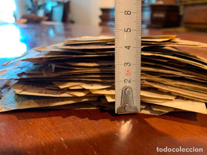 Billetes españoles: Gran lote de billetes antiguos Burgos 500,50,100 pesetas 1938-1936 - Foto 7 - 260077715