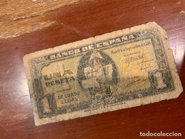 Billetes españoles: Gran lote de billetes antiguos Burgos 500,50,100 pesetas 1938-1936 - Foto 8 - 260077715