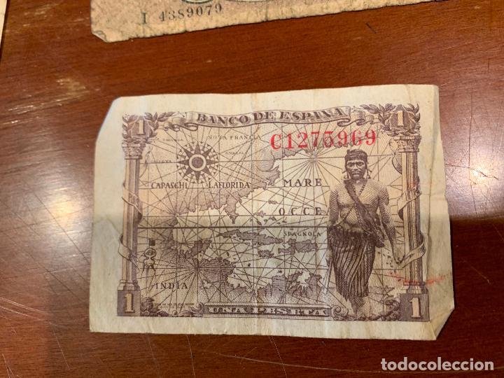 Billetes españoles: Gran lote de billetes antiguos Burgos 500,50,100 pesetas 1938-1936 - Foto 10 - 260077715