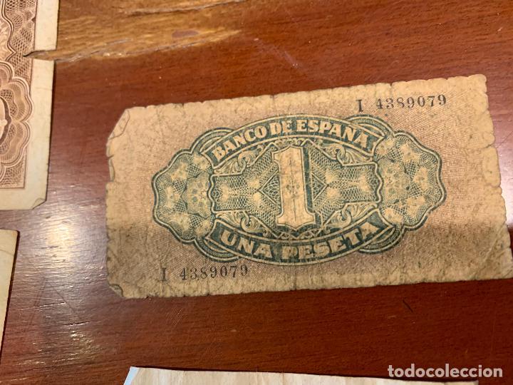 Billetes españoles: Gran lote de billetes antiguos Burgos 500,50,100 pesetas 1938-1936 - Foto 17 - 260077715
